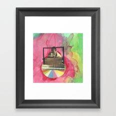 weaving Framed Art Print