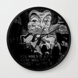 Smoko Wall Clock