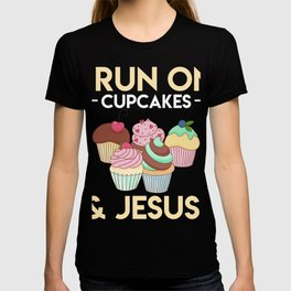 Beautiful Gift For Cupcake Lover. T-shirt