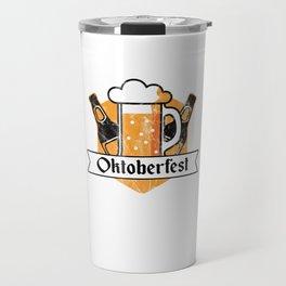 Cool Oktoberfest German Beer Festival Bier Drinkers Travel Mug