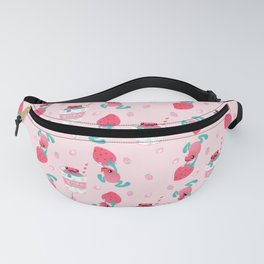 Strawberry poison milk 1 Fanny Pack