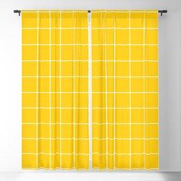 Sunshine Grid Blackout Curtain