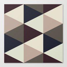 Triangle Sundae Canvas Print