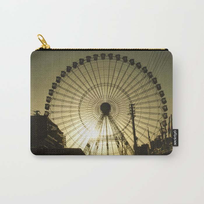 Big wheel & sun Carry-All Pouch