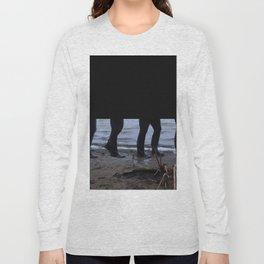 Walk Along the Shore Long Sleeve T-shirt