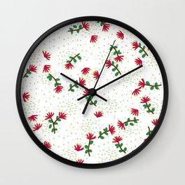 Pohutukawa Wall Clock