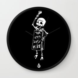 the end was here Wall Clock
