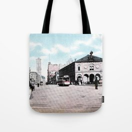 ca 1900 Herald Square New York City Tote Bag