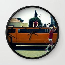 O Rollers Wall Clock