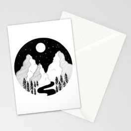 Nightscape Stationery Cards
