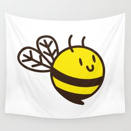 Cuddly Bee Wall Tapestry