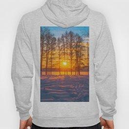 Winter sunset Hoody