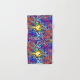 Colliding Dweeb Balls Psychedelic 3D Hand & Bath Towel