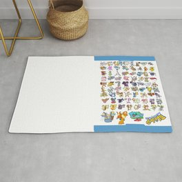 Pokémon - Gotta derp 'em all! - White edition Rug