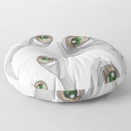 Eye Spy pt.2 Floor Pillow