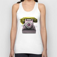 marylin monroe Tank Tops featuring Call Marylin by KEFLIONE