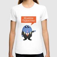 kevin russ T-shirts featuring Wall-Street-Russ by mrfelixding