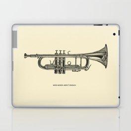 When words aren't enough Laptop & iPad Skin