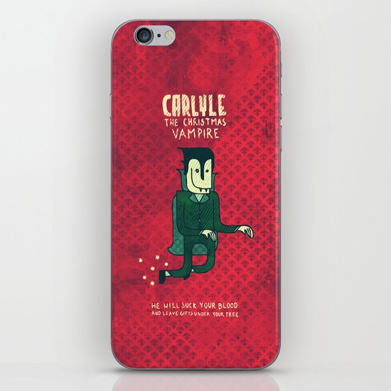 The Christmas Vampire iPhone & iPod Skin