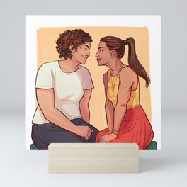 Rachel & Sana Mini Art Print