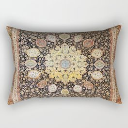 Ardabil Persian Safavid Carpet Print Rectangular Pillow