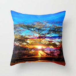 """The Great Tree"" Throw Pillow"