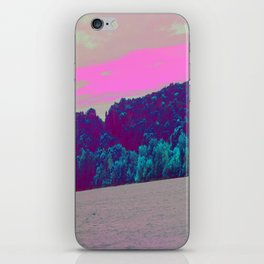 Neon Waterfront iPhone Skin
