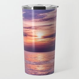 A Moving Sea Between The Shores Travel Mug