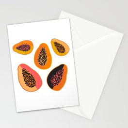 Sweet Papaya Stationery Cards