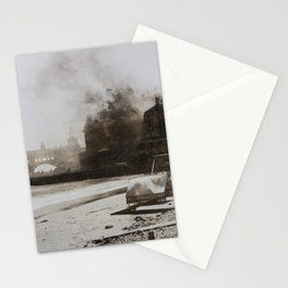 September 12, 1900 Fire at Narragansett Towers, Casino, & Rockingham Hotel Stationery Cards