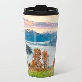 Beautiful Nature Concept Background Travel Mug