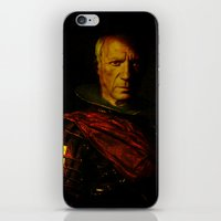 picasso iPhone & iPod Skins featuring King Picasso by Ganech joe