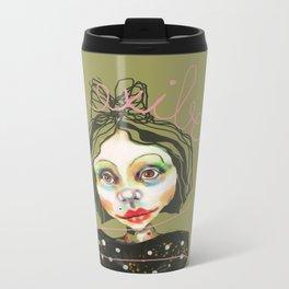 flexible girl Metal Travel Mug