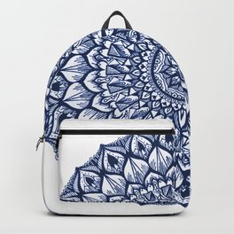 Sand Dollar-Navy Backpack