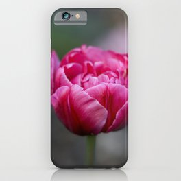Totally irresistible tulip iPhone Case