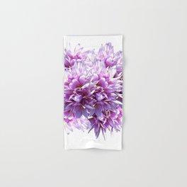 Pink Crocus Flowers Hand & Bath Towel