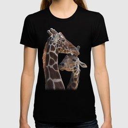 Endearing Giraffes T-shirt