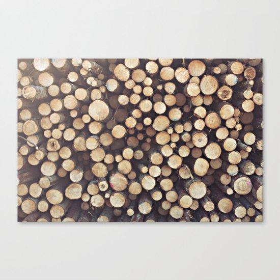 If I wood, wood you? Canvas Print
