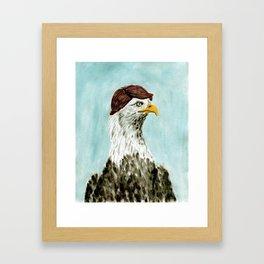 Mid-Life Crisis Eagle  Framed Art Print