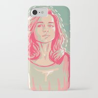 allison argent iPhone & iPod Cases featuring allison + colors by christina