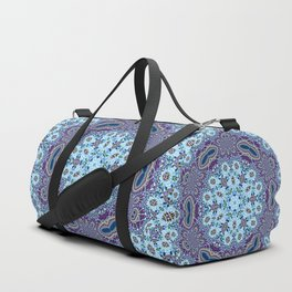 Modern Traditional Lacey Mandala Duffle Bag