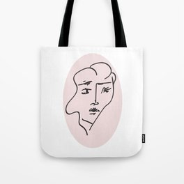 all of these faces I Tote Bag