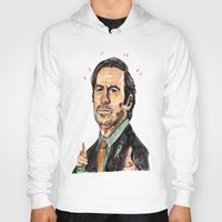 better call saul Hoodies featuring saul! by withapencilinhand