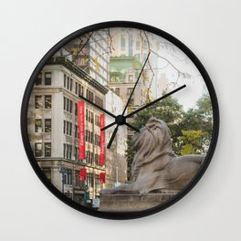 New York Public Library Wall Clock