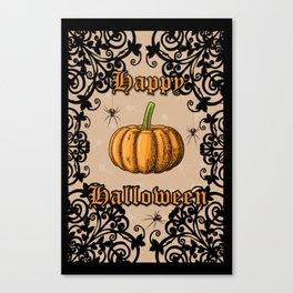 Vintage Halloween Canvas Print