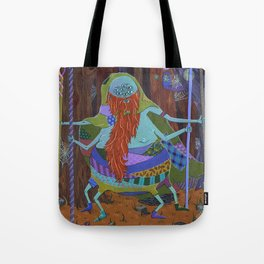 The Spider Wizard Tote Bag
