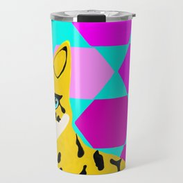 Bengal & Hexagons Travel Mug