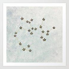 Sagittarius x Astrology x Zodiac Art Print