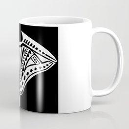Tribal Stingray Coffee Mug