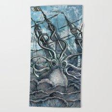Sea Monster Beach Towel